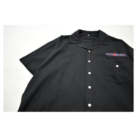 Open collar S/S shirt