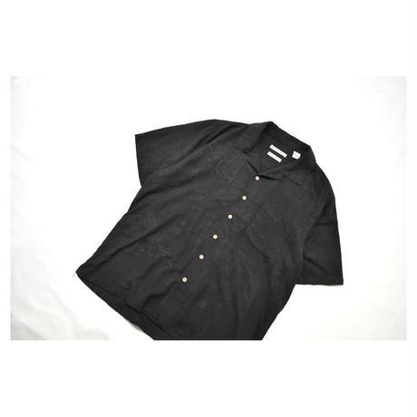Resort Design Open collar Silk S/S shirt