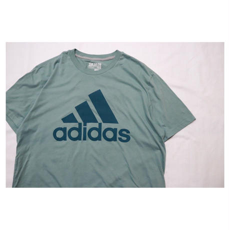 adidas White Blue S/S T-shirt