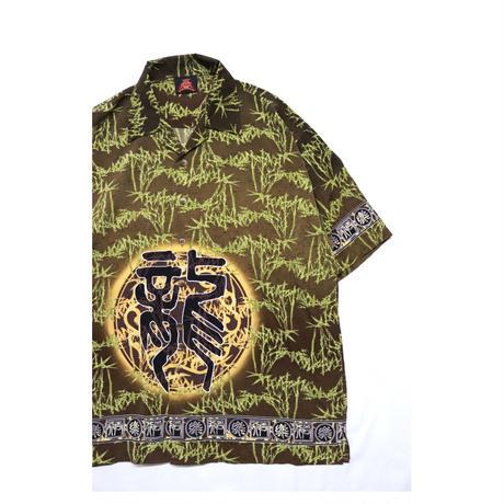 "00s ""龍"" Printed S/S shirt"