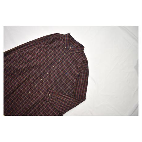 RALPH LAUREN Check Design L/S shirt