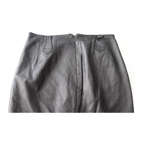 Leather Long-Skirt