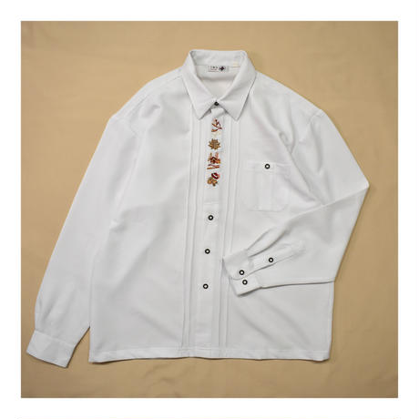 Euro Tyrolean embroidery L/S shirt