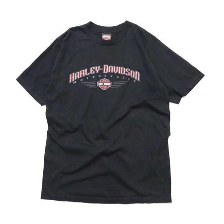 """00s USA Harley-Davidson S/S T-shirt """"2008"""""""