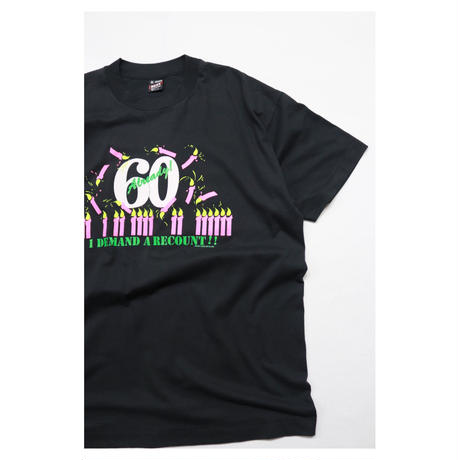 """90s Printed S/S T-shirt """"60 already"""""""