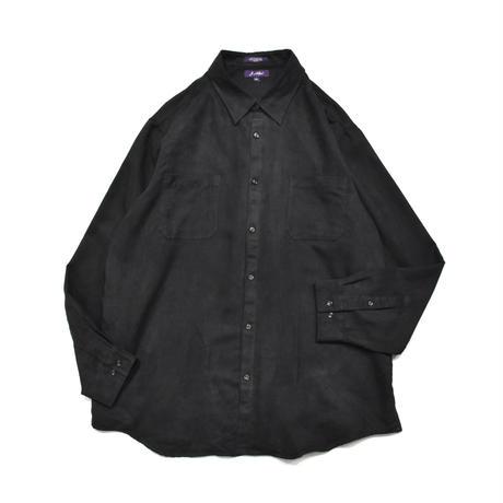 Fake Suede L/S shirt