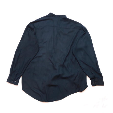 Stand collar Design Front fly L/S shirt
