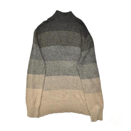 Mock neck Old Knit sweater