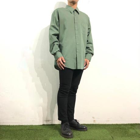 Grass Green color L/S Dress shirt
