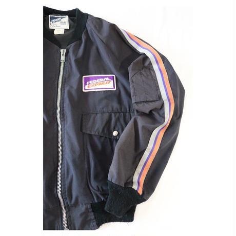 80s  Federal Express (FedEx) ワークジャケット