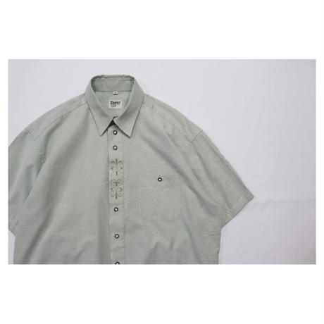 Euro Tyrolean embroidery shirt