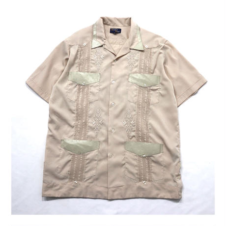 Guayabera Embroidery S/S Shirt