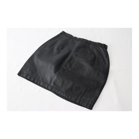 ALAMOS Leather short-Skirt