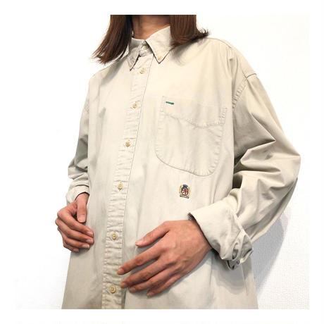 90s TOMMY HILFIGER L/S cotton shirt