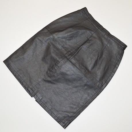 Vintage Leather Skirt