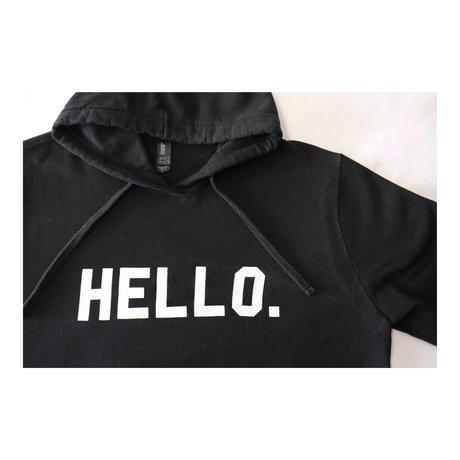 「こんにちわ」スウェットシャツ