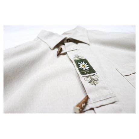 "Euro Tyrolean embroidery shirt ""GRATZ"""