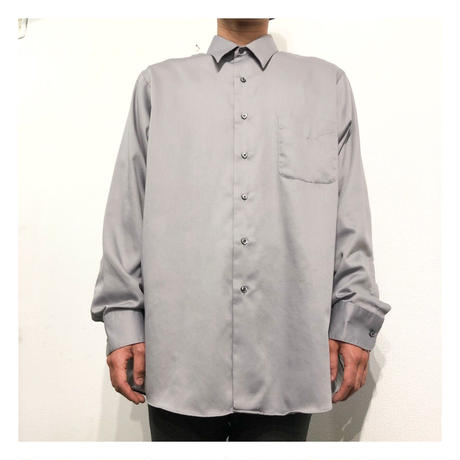 Gray color plain L/S shirt