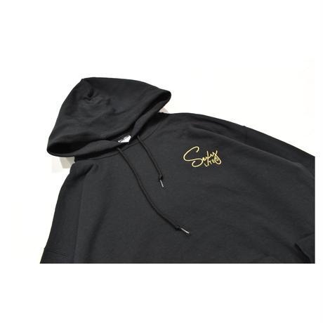 Old Embroidery Hooded Sweatshirt