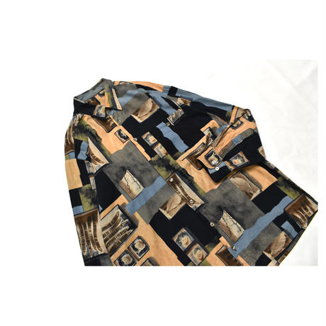 Old GARA Design cotton L/S shirt