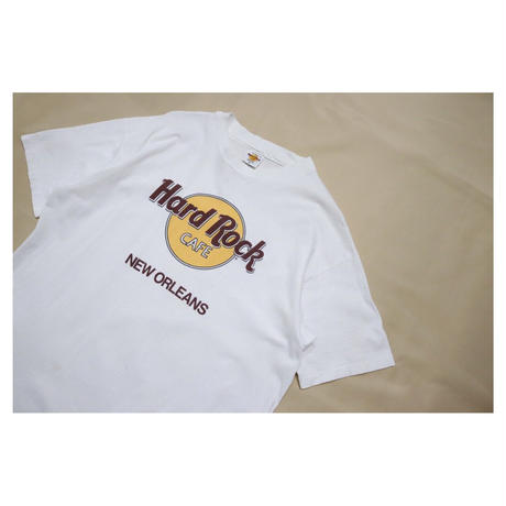 """90s Hard Rock Cafe S/S T-shirt """"NEW ORLEANS"""""""
