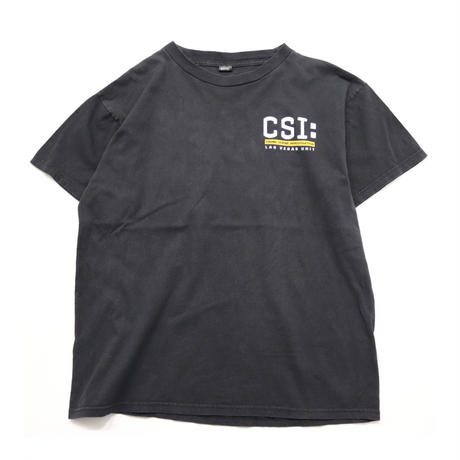 CSI Logo Printed S/S Tシャツ
