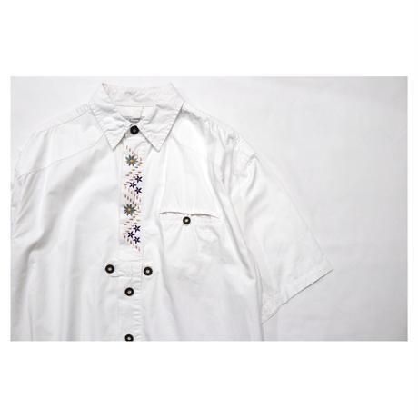 "Euro Tyrolean embroidery shirt ""MEN`S COMPANY"""