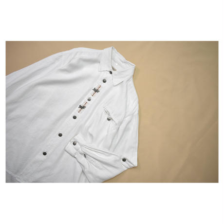 Euro Tyrolean embroidery L/Sshirt