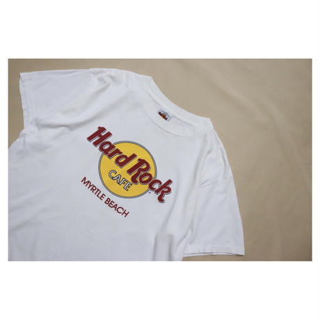 "90s Hard Rock Cafe S/S T-shirt ""MYRTLE BEACH"""