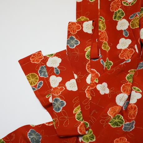 花散らし模様【タックラップスカート】