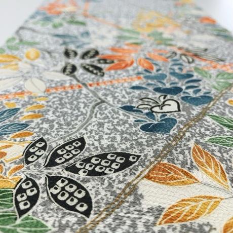 石畳に花鳥模様【L】