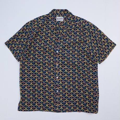 鶴模様 【L】【ケニシャツ】