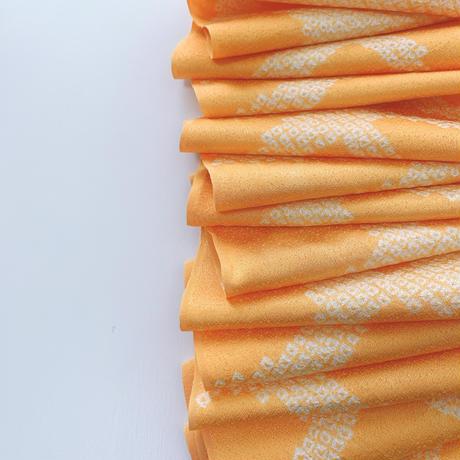 絞り石畳模様【ギャザーラップスカート】