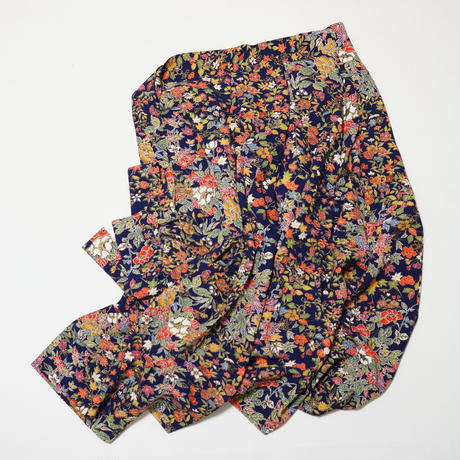 草花模様【タックラップスカート】