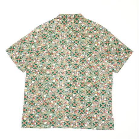 格天井に花丸紋模様【M】