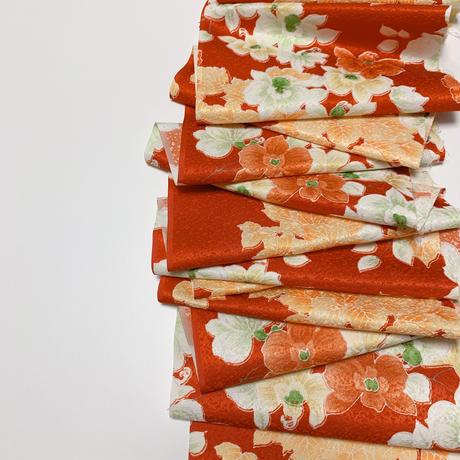 胡蝶蘭模様【タックラップスカート】