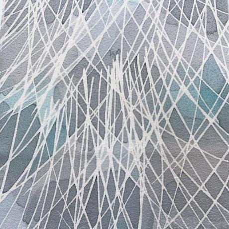 抽象模様【ギャザーラップスカート】