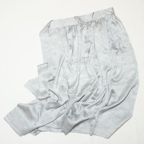 若松総地紋色無地【ギャザーラップスカート】