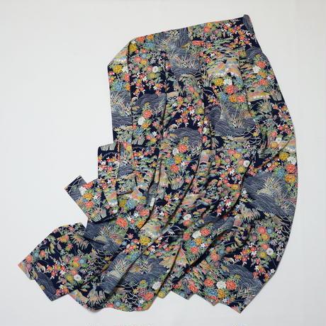 茶屋辻模様【タックラップスカート】