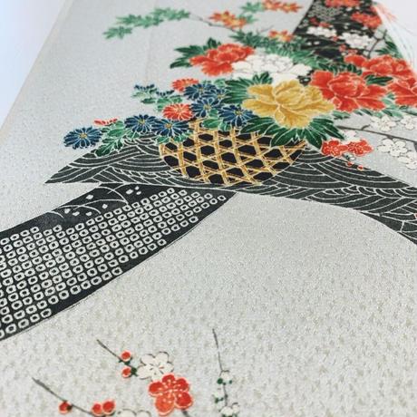 花籠模様【ギャザーラップスカート】