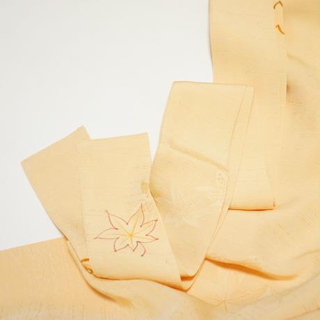 楓地紋水面地紋【タックラップスカート】