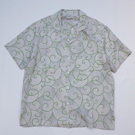 唐草模様【L】【ケニシャツ】