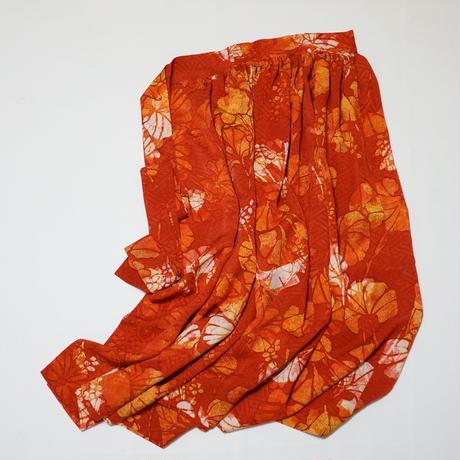 葡萄模様【ギャザーラップスカート】