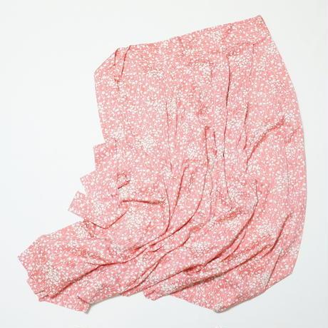 総小花模様【タックラップスカート】