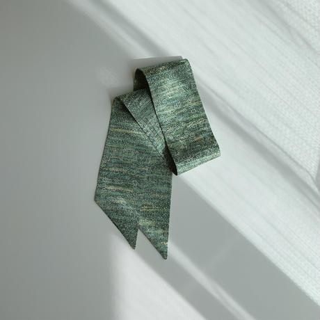 緑木に花地紋模様 ①【短】