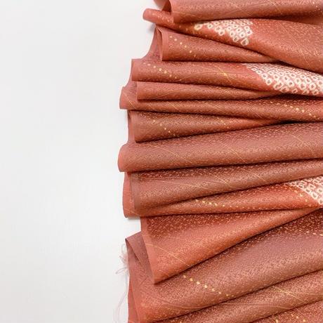 幾何線模様暈し【ギャザーラップスカート】