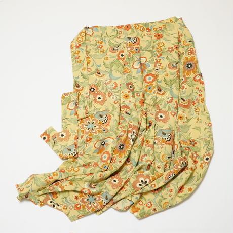 花唐草模様【タックラップスカート】