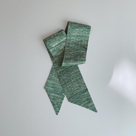 緑木に花地紋模様 ③【短】