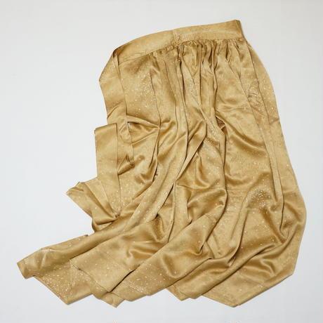 霧地紋点模様【ギャザーラップスカート】