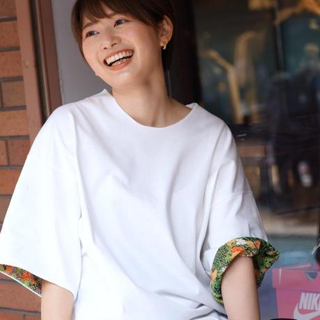 草花新緑模様【別布化繊】